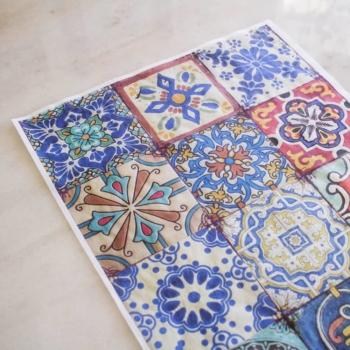 Ryžový papier Colorful (3listy) 30x42cm