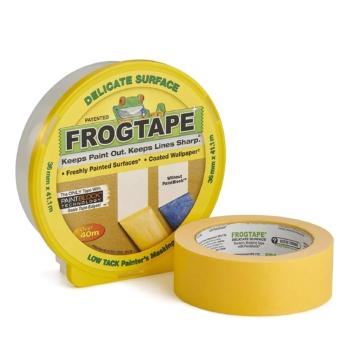 Maliarska páska Frogtape na delikátne povrchy